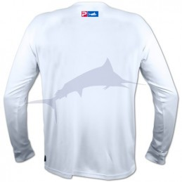 L-Shirt Pelagic Aquatek - Blanc - arrière