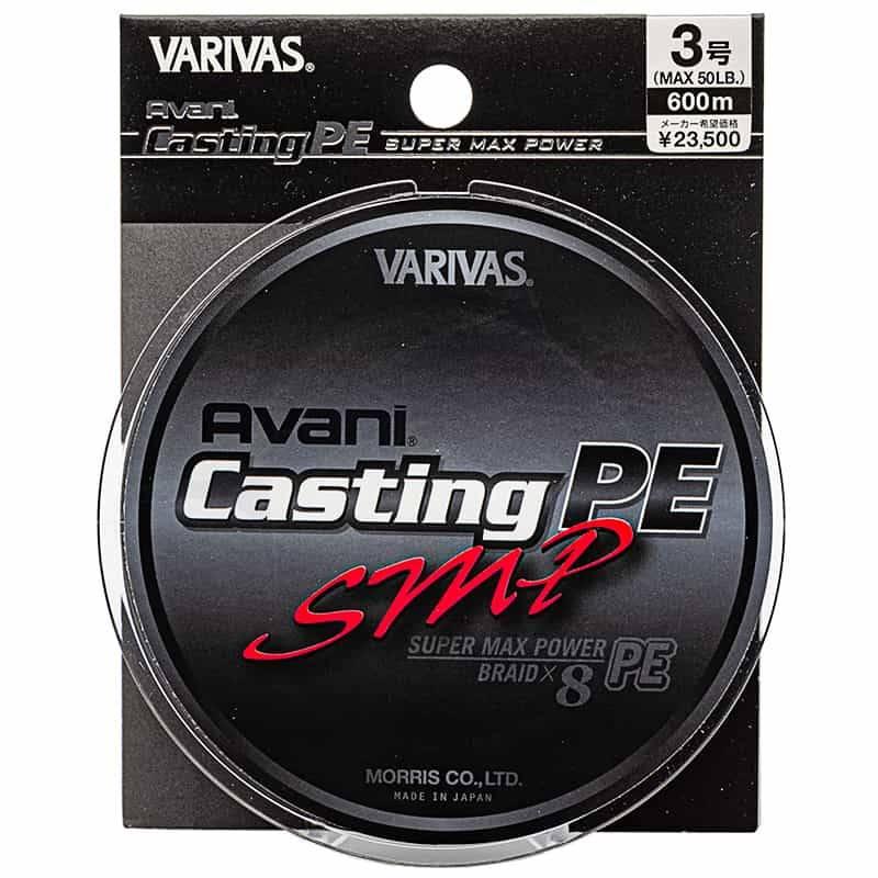 Varivas Avani Casting PE SMP 600m - 50 lb