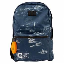 Salty Crew Sac Brig Backpack Navy