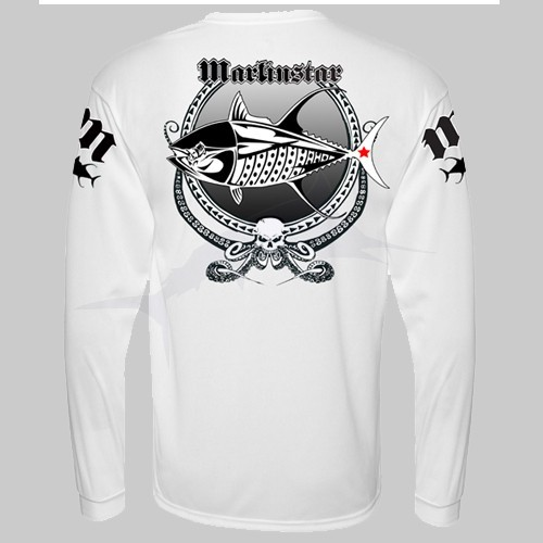 L-Shirt Marlin Star W.T.F Tuna