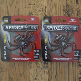 Spiderwire Stealth 270m Verte - 30 lb