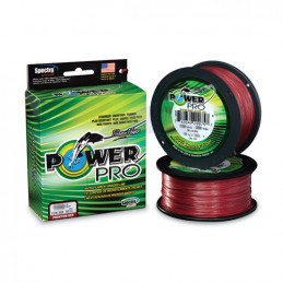 Power Pro Spectra 275 m - Rouge