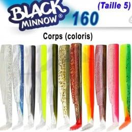 Fiiish Black Minnow 160 Corps N°5 orange-fluo