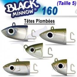 Tetes Plombee Deep-90gr-Fiiish Black Minnow 160 N°5