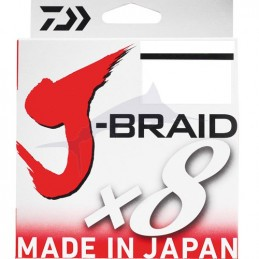 Daiwa J-Braid X 8 (300m) - Multicolor (2)