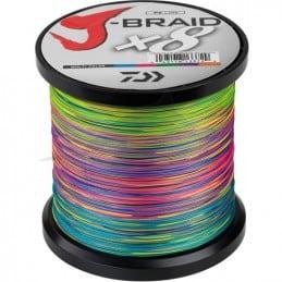 Daiwa Tresse J-Braid X 8 (1500m) - Multicolore