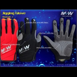 M&W Jigging Gloves (BL-1)