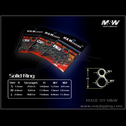 M&W Double Solid Ring(8)