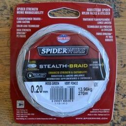 Spiderwire Stealth 270m Green - 30 lb