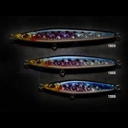Leurre Megabass Saury Coulant - GLX Silver