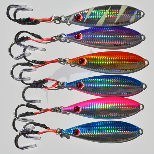 Jig Power Owase color red gold