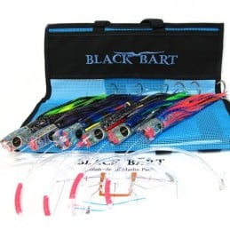 Black Bart Small Billfish Pack Rigged 30-50lb