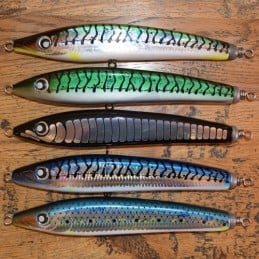 Leurre Temple Reef Lambo 220-130S Nanoskin - Green Mackerel
