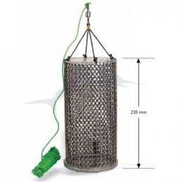 Seanox Feeder round stainless steel PVC ø 110 mm