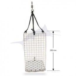 Seanox square stainless steel feeder