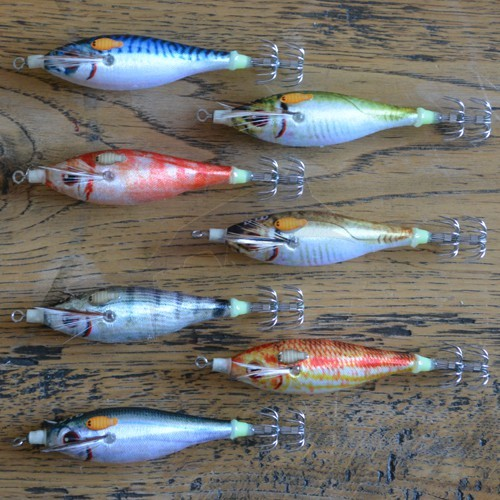 Turlutte DTD Real Fish Bukva 1.5 - Sargo