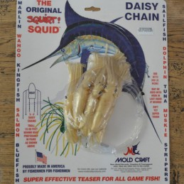 Mold Craft Squid Daisy Chains
