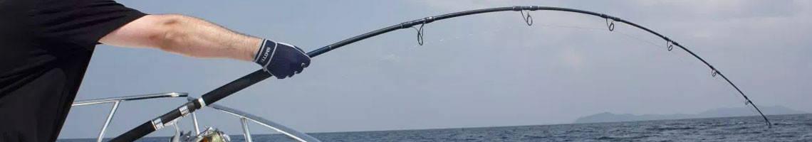 Cannes à Pêche mer lancer bateau ou du bord