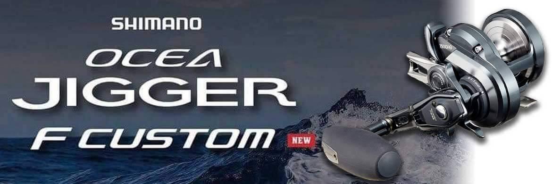 Ocea Jigger F Custom Shimano Reel