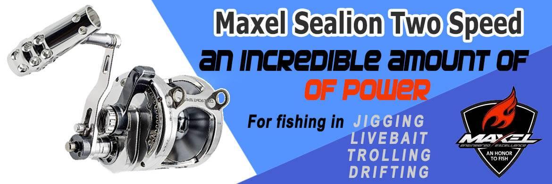 Maxel Sealion Two Speed Reel